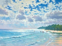 Barbados by James Preston - Original Painting on Stretched Canvas sized 32x24 inches. Available from Whitewall Galleries